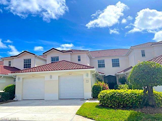 610 Lalique Cir #707, Naples, FL 34119 (MLS #221016218) :: Realty Group Of Southwest Florida
