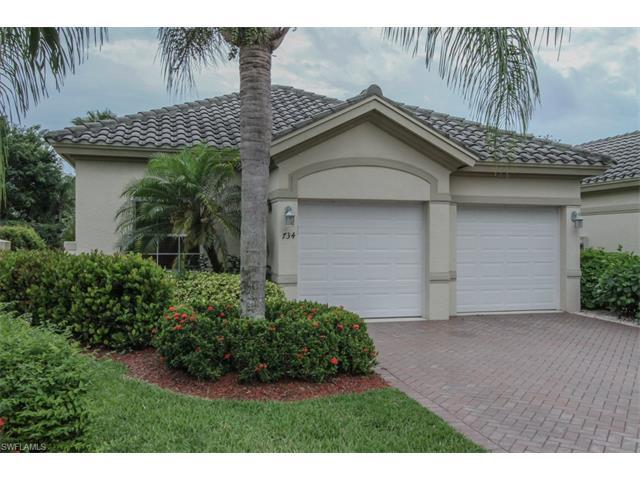 734 Vistana Circle, Naples, FL 34119 (MLS #216034609) :: The New Home Spot, Inc.
