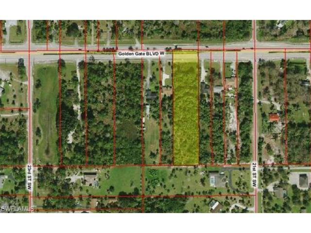 2160 Golden Gate Blvd W, Naples, FL 34120 (#216044104) :: Homes and Land Brokers, Inc