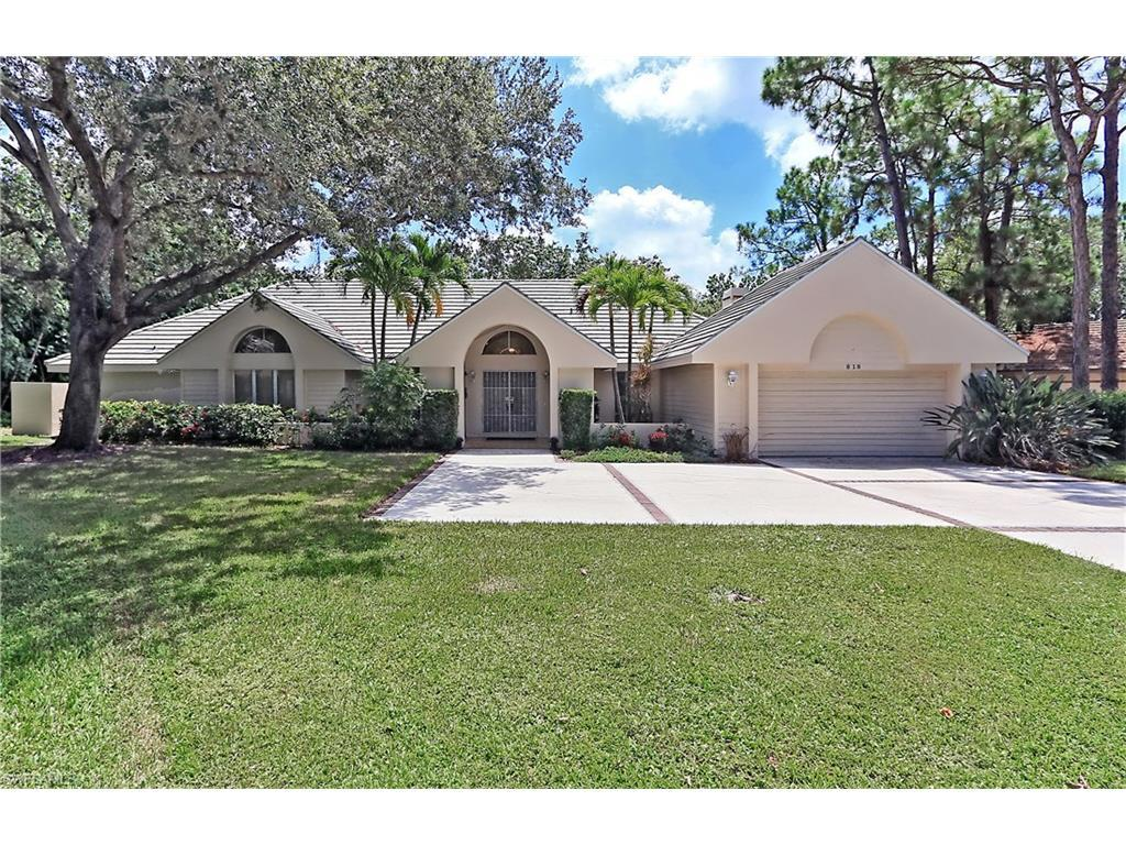 818 Kingbird Ct, Naples, FL 34108 (MLS #216048384) :: The New Home Spot, Inc.