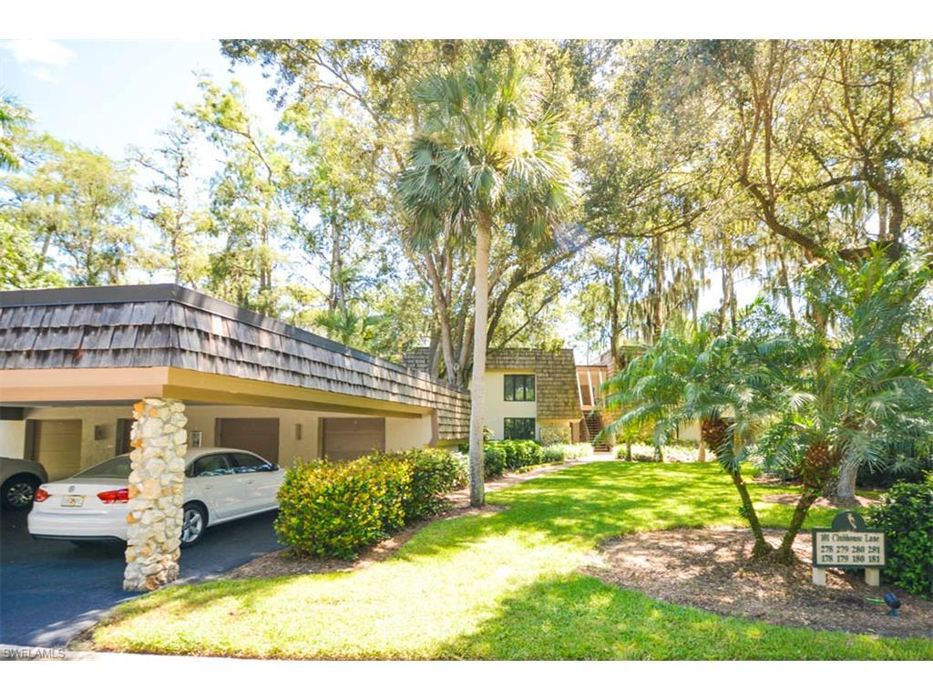 101 Clubhouse Lane Ln #179, Naples, FL 34105 (MLS #216050623) :: The New Home Spot, Inc.