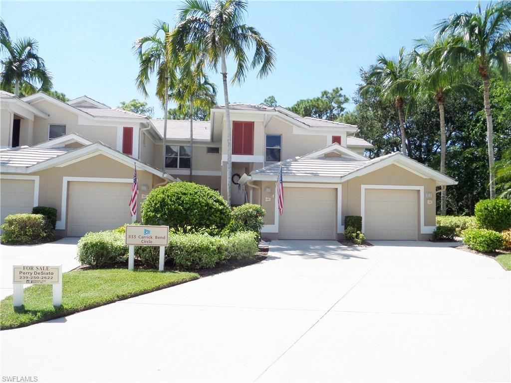 833 Carrick Bend Cir #203, Naples, FL 34110 (#216060780) :: Homes and Land Brokers, Inc
