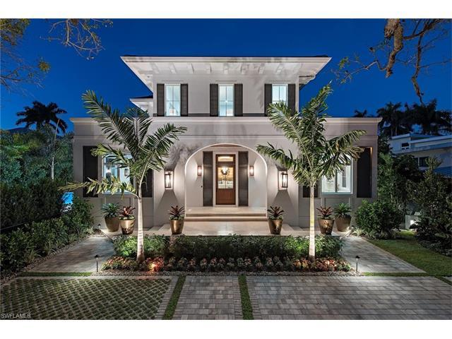 215 3rd Ave N, Naples, FL 34102 (#216061735) :: Homes and Land Brokers, Inc