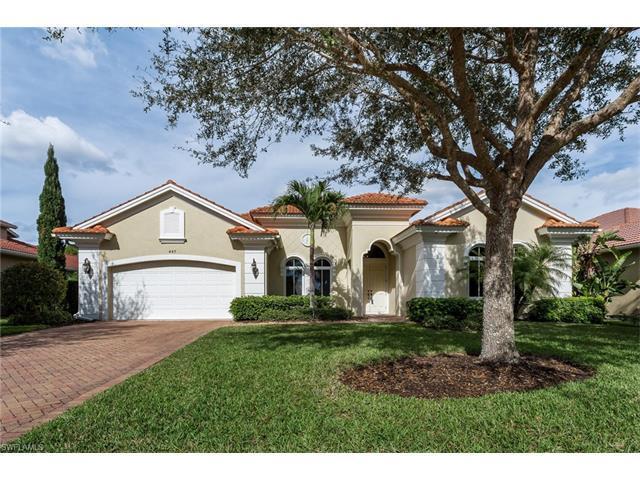 447 Saddlebrook Ln, Naples, FL 34110 (MLS #217003425) :: The New Home Spot, Inc.