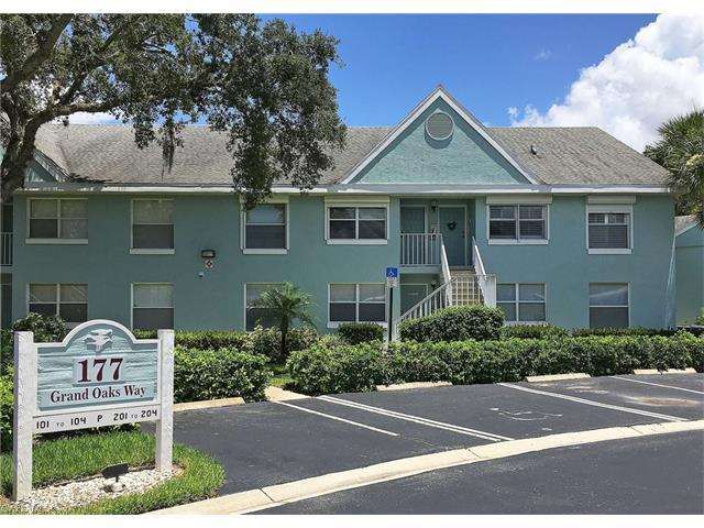 177 Grand Oaks Way P-204, Naples, FL 34110 (#216057599) :: Homes and Land Brokers, Inc