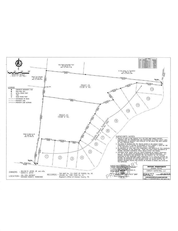 0 Hall Cemetery Rd-Tract 14 - Photo 1