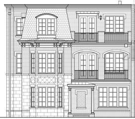 MLS# 2141657 - 3612 West End Ave (Lot #126) in Richland Hall in Nashville Tennessee 37205