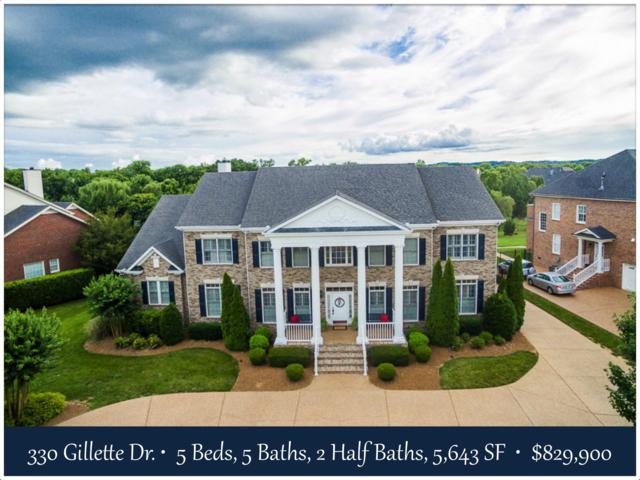 330 Gillette Dr, Franklin, TN 37069 (MLS #1839815) :: DeSelms Real Estate