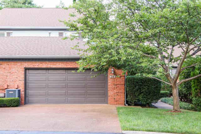 218 Hearthstone Manor Ln #218, Brentwood, TN 37027 (MLS #1843438) :: The Lipman Group Sotheby's International Realty