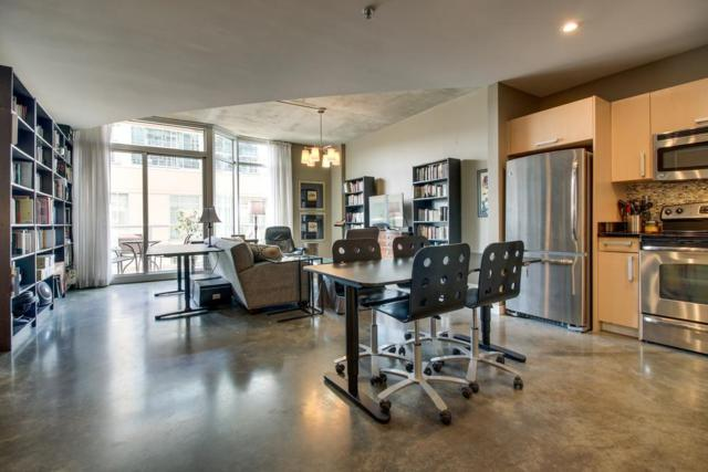 600 12Th Ave S Apt 804 #804, Nashville, TN 37203 (MLS #1847328) :: The Lipman Group Sotheby's International Realty