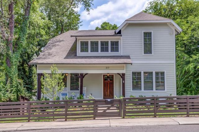 317 S 14Th St, Nashville, TN 37206 (MLS #1848707) :: Ashley Claire Real Estate - Benchmark Realty