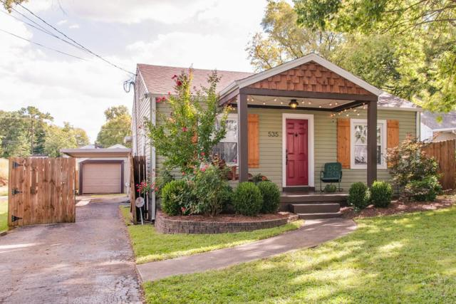 535 Moore Ave, Nashville, TN 37203 (MLS #1863454) :: KW Armstrong Real Estate Group