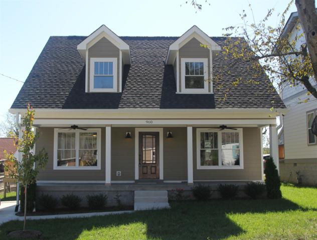 960 Thomas Ave, Nashville, TN 37216 (MLS #1885346) :: The Milam Group at Fridrich & Clark Realty