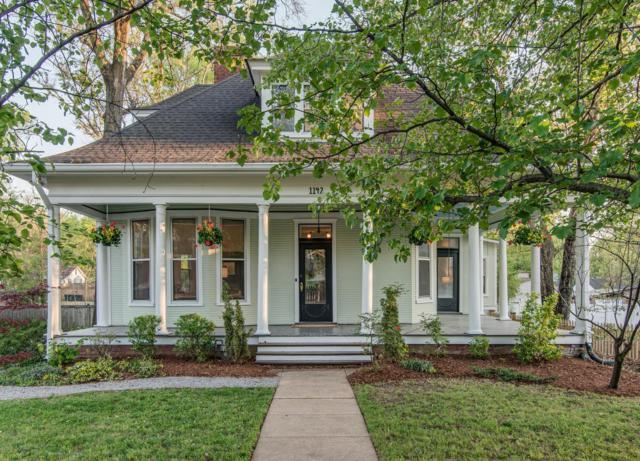 1142 Cahal Ave, Nashville, TN 37206 (MLS #1887744) :: The Milam Group at Fridrich & Clark Realty