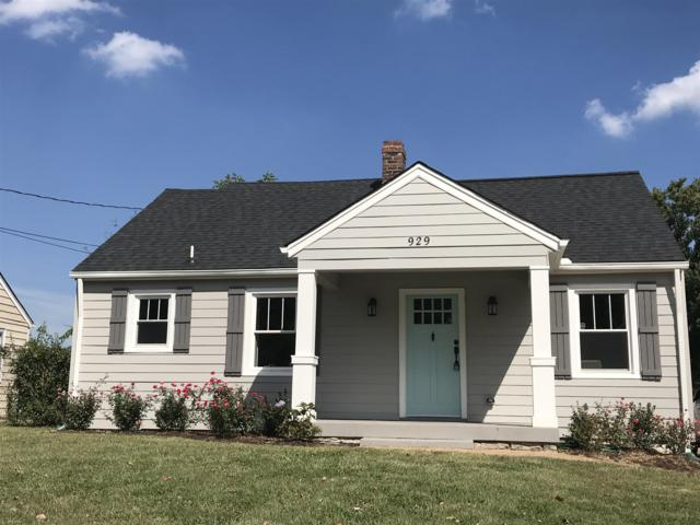 929 Granada Ave, Nashville, TN 37206 (MLS #1894643) :: CityLiving Group