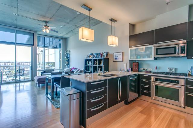 700 12Th Ave S Unit 1408 #1408, Nashville, TN 37203 (MLS #1909340) :: The Kelton Group