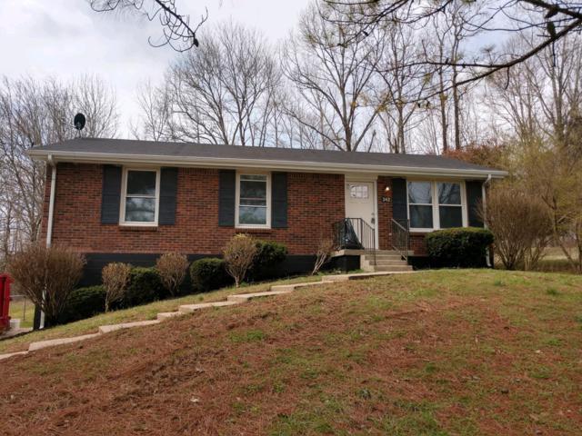 342 Golden Dr, Clarksville, TN 37040 (MLS #1909713) :: NashvilleOnTheMove   Benchmark Realty
