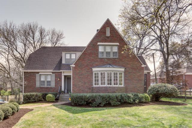 1023 Woodmont Blvd, Nashville, TN 37204 (MLS #1917716) :: RE/MAX Homes And Estates