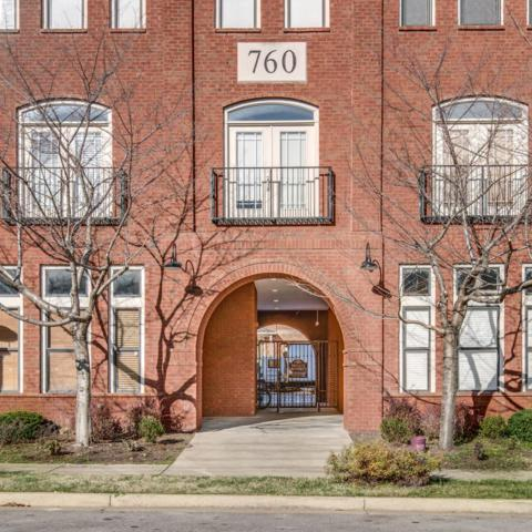 760 Wedgewood Park Apt 307 #307, Nashville, TN 37203 (MLS #1919849) :: RE/MAX Choice Properties