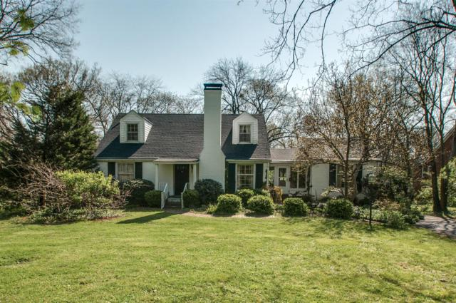436 Lynnwood Blvd, Nashville, TN 37205 (MLS #1919945) :: NashvilleOnTheMove | Benchmark Realty