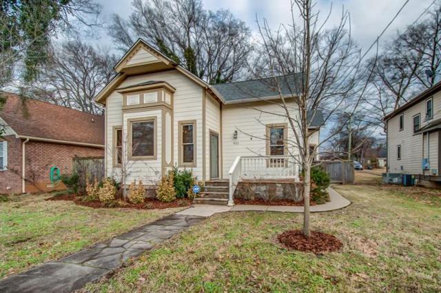 921 Lischey Ave, Nashville, TN 37207 (MLS #1922039) :: FYKES Realty Group
