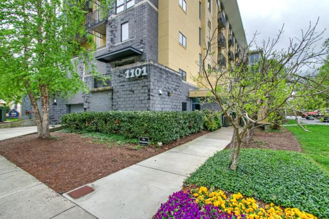 1101 18th Ave S. Apt 606 #606, Nashville, TN 37212 (MLS #1923962) :: The Kelton Group