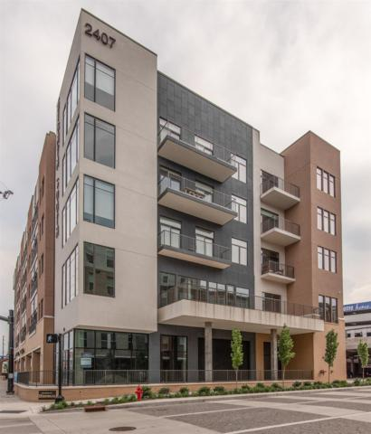 2407 8th Ave S #511, Nashville, TN 37204 (MLS #1934441) :: The Helton Real Estate Group