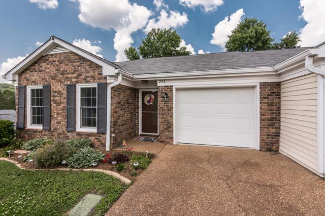 206 Miles Ct, Nashville, TN 37205 (MLS #1939993) :: Team Wilson Real Estate Partners