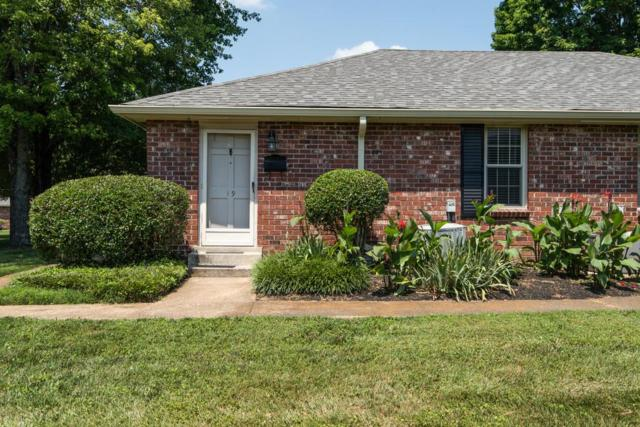 523 Harding Pl # 19 #19, Nashville, TN 37211 (MLS #1941675) :: FYKES Realty Group