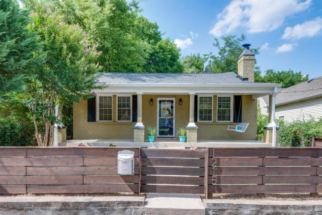 1215 Boscobel Street, Nashville, TN 37206 (MLS #1942543) :: RE/MAX Choice Properties
