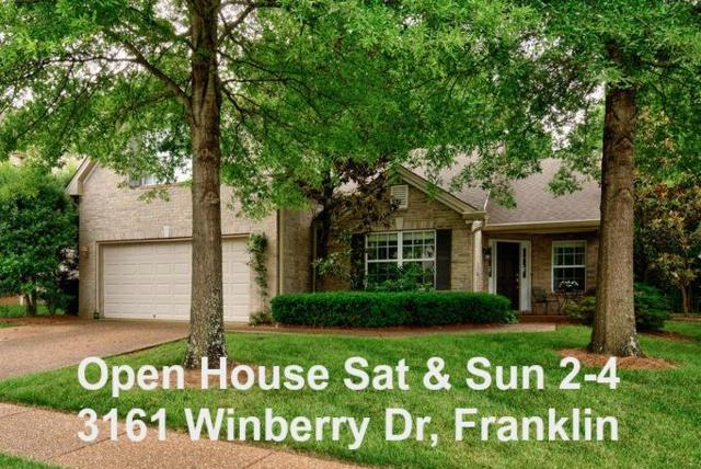 3161 Winberry Dr, Franklin, TN 37064 (MLS #1942941) :: HALO Realty