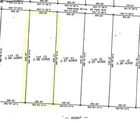 13 Deerwood Drive, Sewanee, TN 37375 (MLS #1946339) :: Team Wilson Real Estate Partners