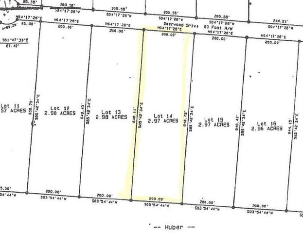 14 Deerwood Drive, Sewanee, TN 37375 (MLS #1946347) :: RE/MAX Homes And Estates
