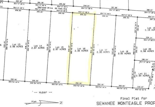 16 Deerwood Dr, Sewanee, TN 37375 (MLS #1946349) :: RE/MAX Homes And Estates