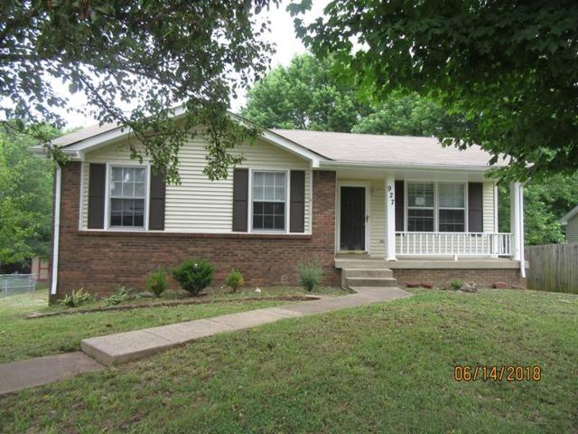 927 Poppy Dr, Clarksville, TN 37042 (MLS #1949369) :: Berkshire Hathaway HomeServices Woodmont Realty