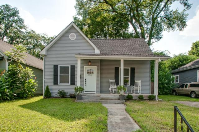 1022 6Th St N, Nashville, TN 37207 (MLS #1951634) :: DeSelms Real Estate