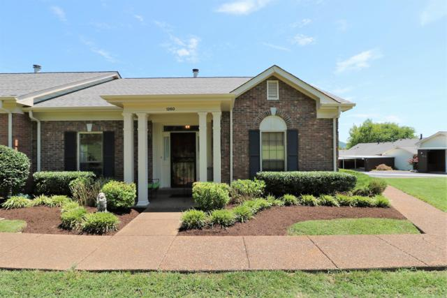 1260 Brentwood Pt Iii, Franklin, TN 37067 (MLS #1951888) :: Ashley Claire Real Estate - Benchmark Realty