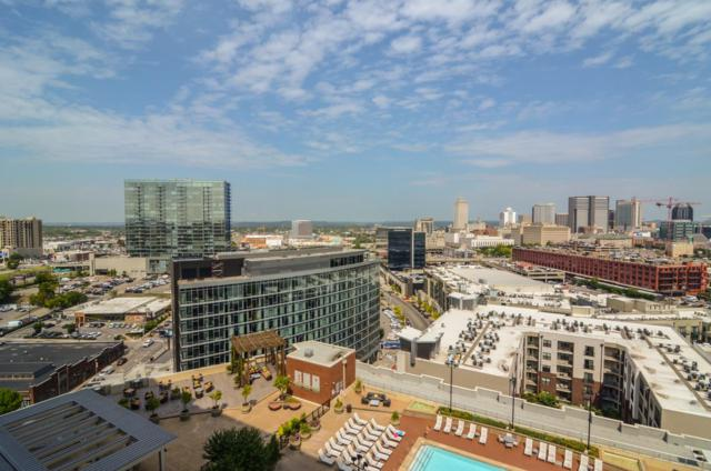 600 12Th Ave S Apt 1711, Nashville, TN 37203 (MLS #1956364) :: Nashville On The Move