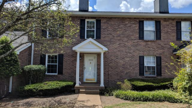 228 Cottage Pl #228, Nashville, TN 37214 (MLS #1957742) :: CityLiving Group