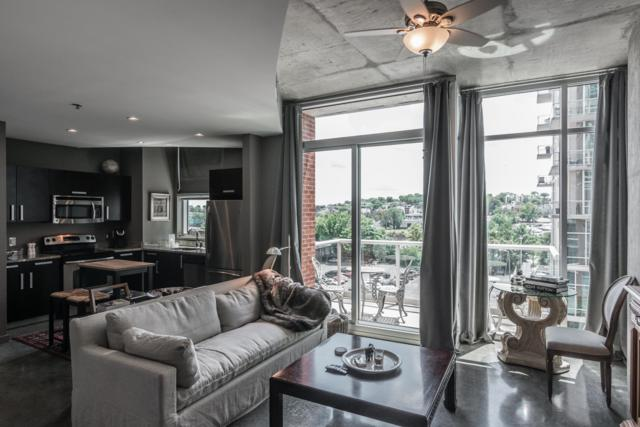 600 12Th Ave S #812 #812, Nashville, TN 37203 (MLS #1958766) :: RE/MAX Homes And Estates