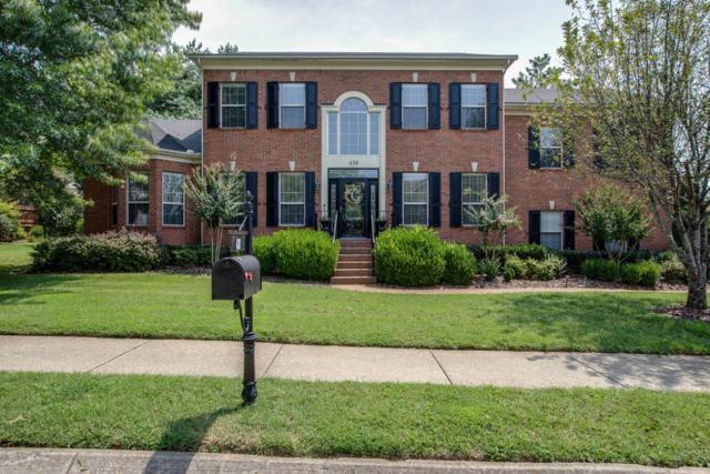 438 Logans Circle, Franklin, TN 37067 (MLS #1961452) :: Nashville On The Move