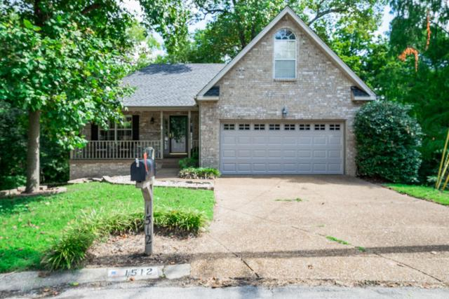 1512 Roundhill Ct, Nashville, TN 37211 (MLS #1969009) :: EXIT Realty Bob Lamb & Associates