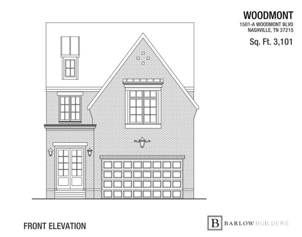 1501 A Woodmont Blvd, Nashville, TN 37215 (MLS #1982088) :: Oak Street Group