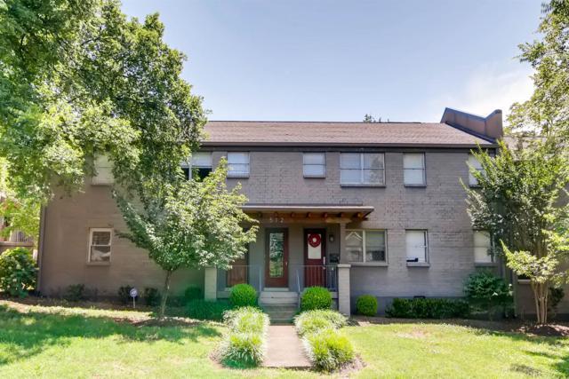 512 Chesterfield Ave Apt C1, Nashville, TN 37212 (MLS #1982374) :: REMAX Elite