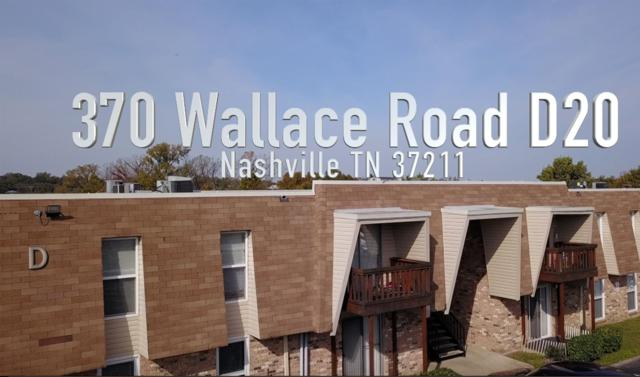 370 Wallace Rd Apt D20, Nashville, TN 37211 (MLS #1985277) :: John Jones Real Estate LLC