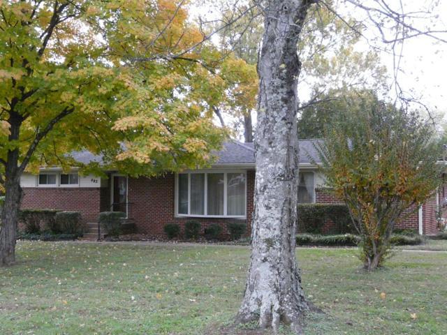 493 Brentlawn Dr, Nashville, TN 37220 (MLS #1986152) :: The Kelton Group