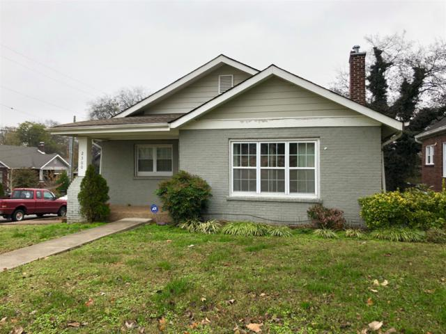 2300 10th Ave S, Nashville, TN 37204 (MLS #1988840) :: Ashley Claire Real Estate - Benchmark Realty