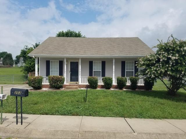 253 Amber Way, Clarksville, TN 37042 (MLS #1988890) :: Christian Black Team