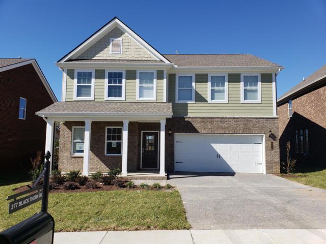 377 Black Thorn Lane #209, Gallatin, TN 37066 (MLS #1989378) :: Ashley Claire Real Estate - Benchmark Realty