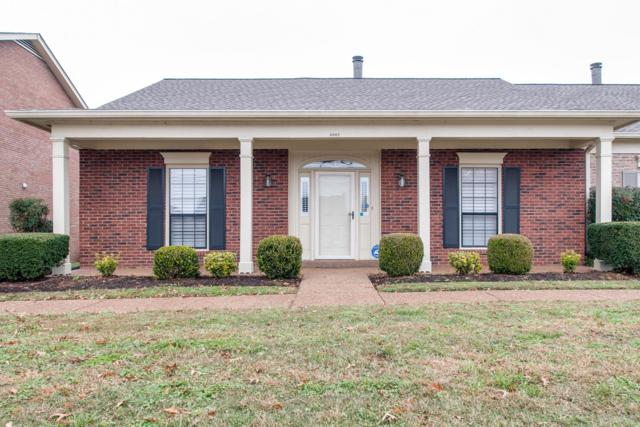 8962 Sawyer Brown Road #8962, Nashville, TN 37221 (MLS #1989451) :: Ashley Claire Real Estate - Benchmark Realty